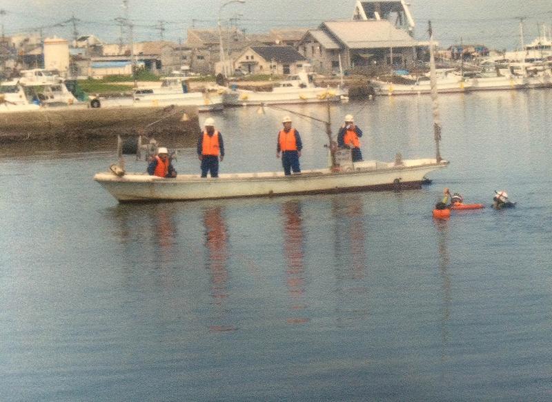 志賀島-救助訓練01