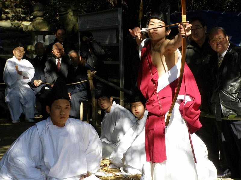 志賀島-歩射祭